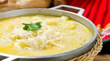 Sopa de queso blando y carne: la receta