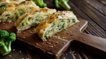 Strudel de brócoli: receta rústica y sabrosa con queso